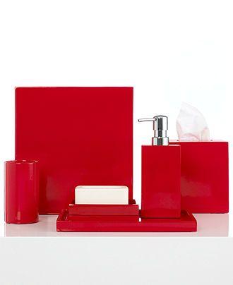 Jonathan Adler Bath Accessories, Lacquer Trash Can - Bathroom Accessories - Bed & Bath - Macy's