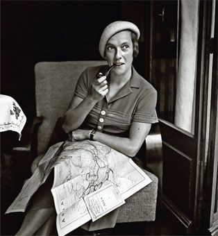Ella Maillart, writer, nomad, explorer