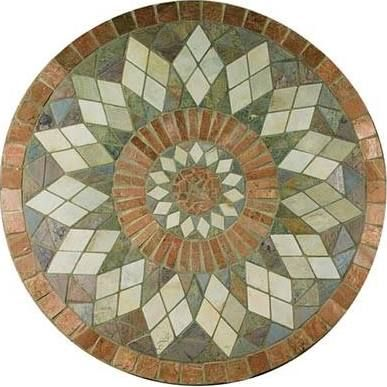 36 round mosaic patio table - Google Search