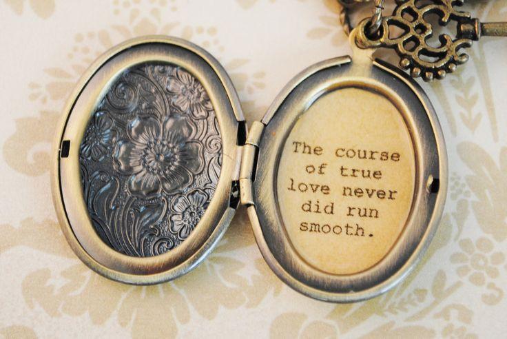 William Shakespeare Quotes True Love Never Did Run Smooth