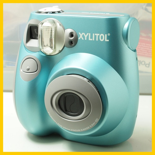 fugi instax mini poleroid. i have requested one for my birthday!