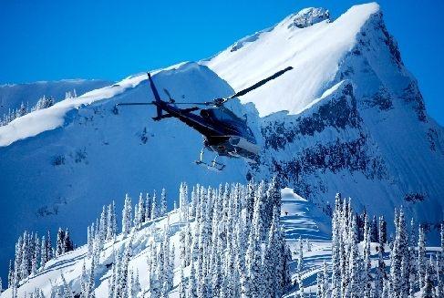 Revelstoke, BC...heli-skiing...a girl can dream.