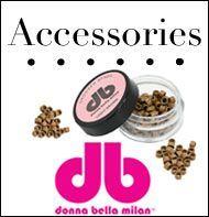 donna bella hair extension accessories