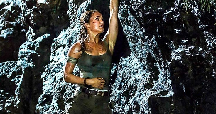 New Tomb Raider Photo Arrives, Lara Croft Origin Story Teased -- Alicia Vikander opens up about her role in the Tomb Raider reboot and how this Lara Croft is different from the Angelina Jolie movies and video games. -- http://movieweb.com/tomb-raider-reboot-2018-photo-origin-story/