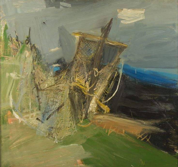Joan Eardley | Fishing Nets I 1965