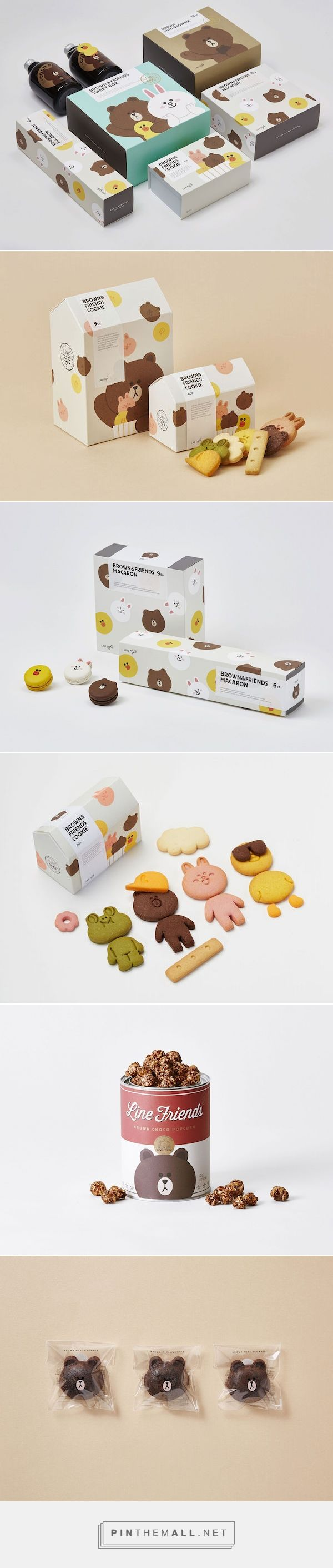 LINE Café F&B / Food and beverage packaging by LINE FRIENDS PD