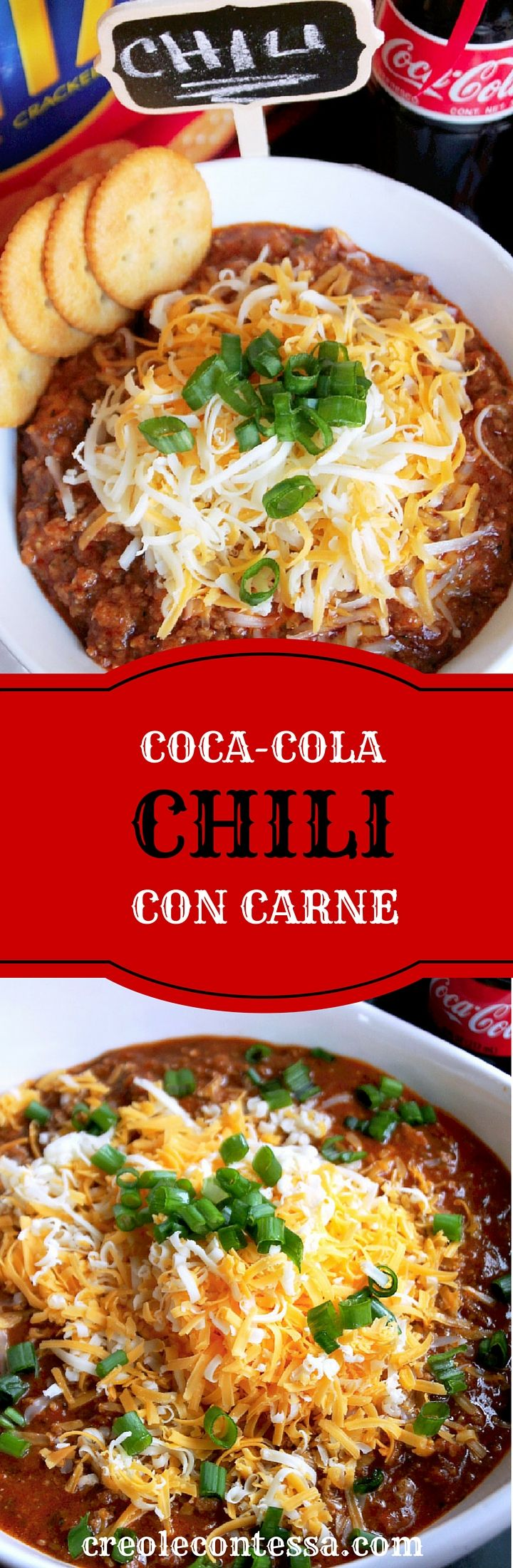 Coca-Cola Chili Con Carne-Creole Contessa  #HomeBowlHeroContest