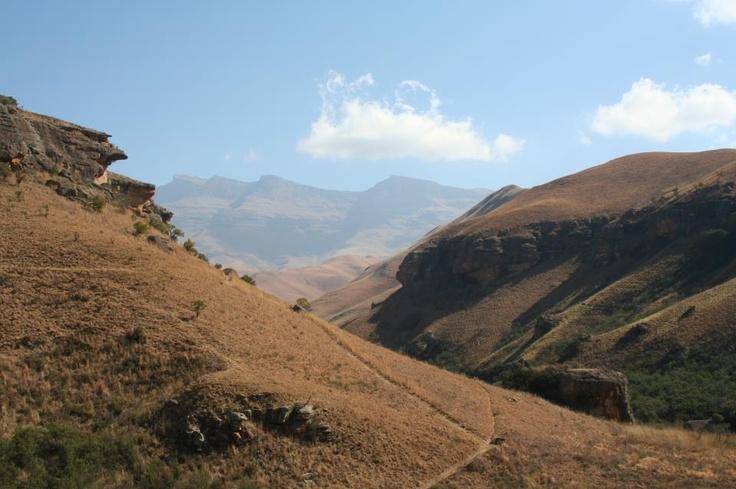 Drakensbergen, South-Afrika