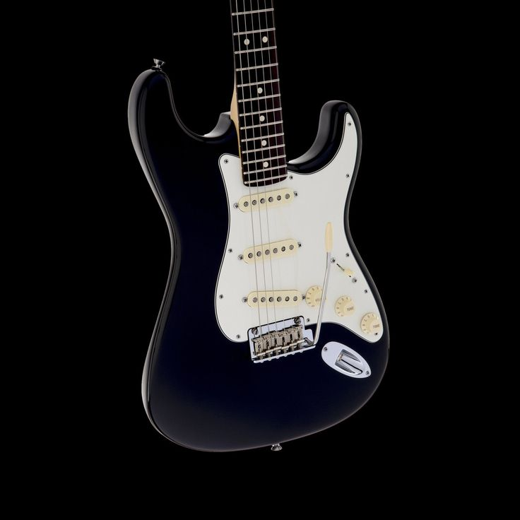 Fender American Standard Stratocaster Electric Guitar in Black