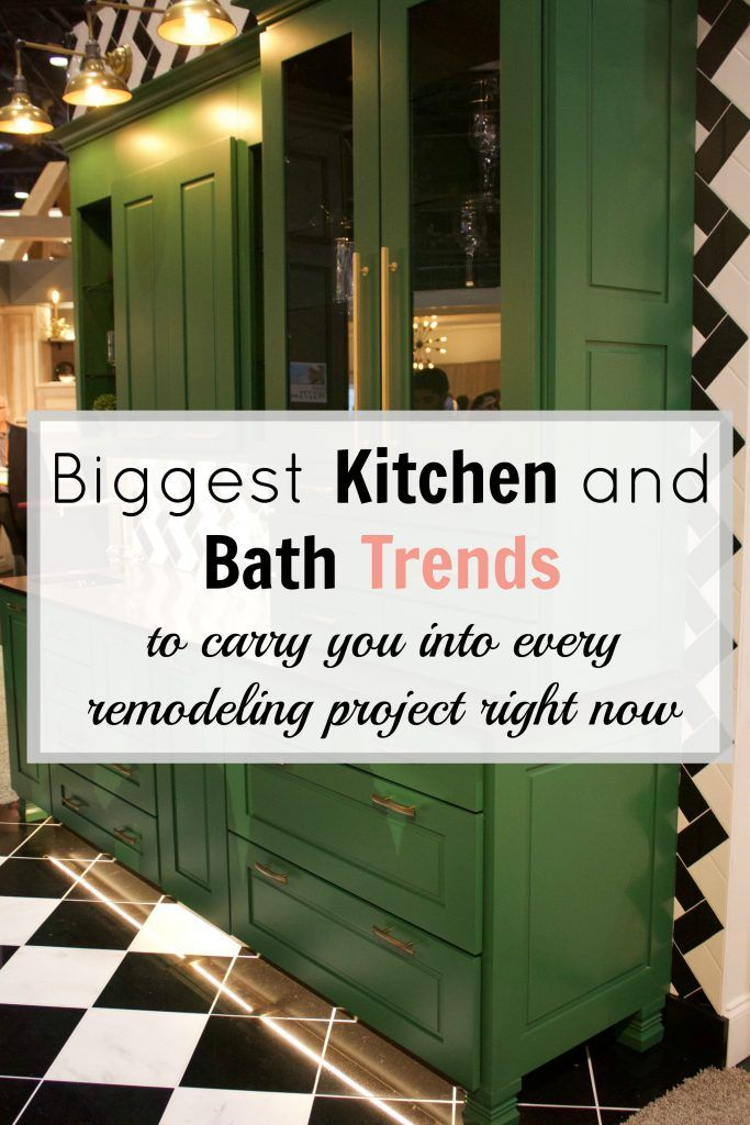 biggest kitchen bath trends to carry you into