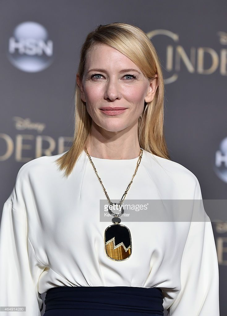 Actress Cate Blanchett attends the premiere of Disney's 'Cinderella' at the El Capitan Theatre on March 1, 2015 in Hollywood, California.