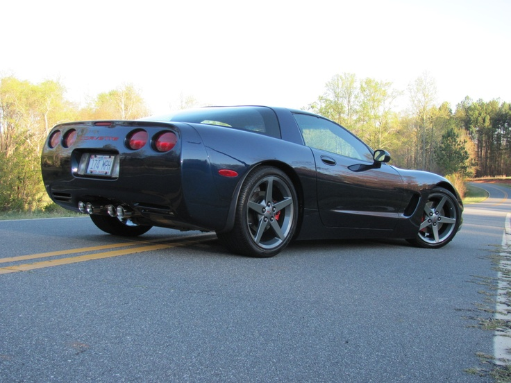 my 2000 Corvette C5. 6 speed LS1, lowered on stock bolts, custom leather interior, C6 ...