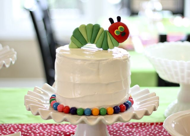 Pettingill Crew: {Miles' Very Hungry Caterpillar First Birthday Party}