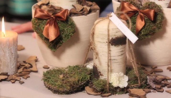Un tutorial realizzato da Silviadeifiori per GHG Decor: come realizzare un piccolo bosco di betulla in vaso! Il materiale che ci serve è: candela tipo betulla, vaso bianco /beige , spugna secca, lance da fiorista, tape da fiorista, pezzi di cocco, cartoncino, muschio, filo di ferro , colla a caldo, fiocchetti raso, rami legno chiaro.