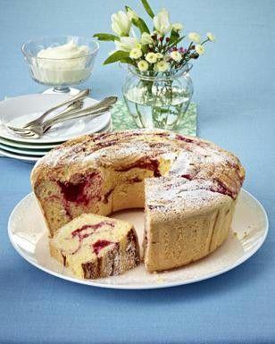 Himbeer-Marmor-Kuchen
