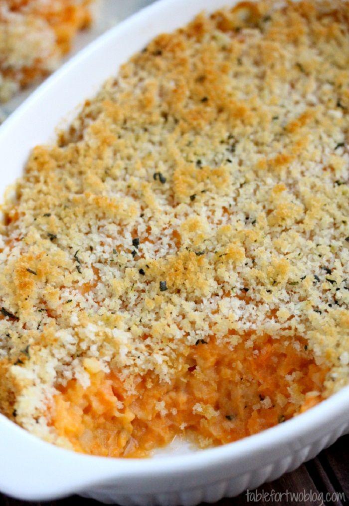 Best Thanksgiving Casseroles Recipes , Sweet Potato & Sage Butter Casserole