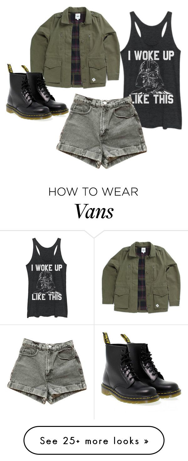 """Sin título #577"" by polly-666 on Polyvore featuring Vans, Dr. Martens and American Apparel"