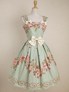 Maybe use a table cloth with a pattern around the rim to make a dress like this.