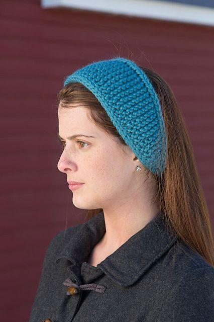 Knit Headband Pattern Ravelry : Ravelry: Toboggan Tie Headband pattern by Susan Mills ...