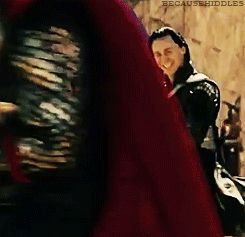 Loki Laufeyson - Look at him ride this horse all prince-like