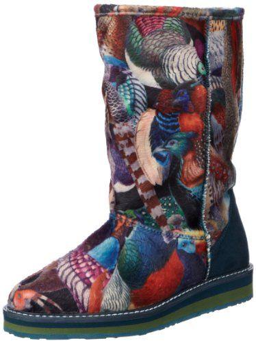 Desigual PANDA 28TS119, Damen Boots, Blau (Azul Gaultier 5077), EU 40
