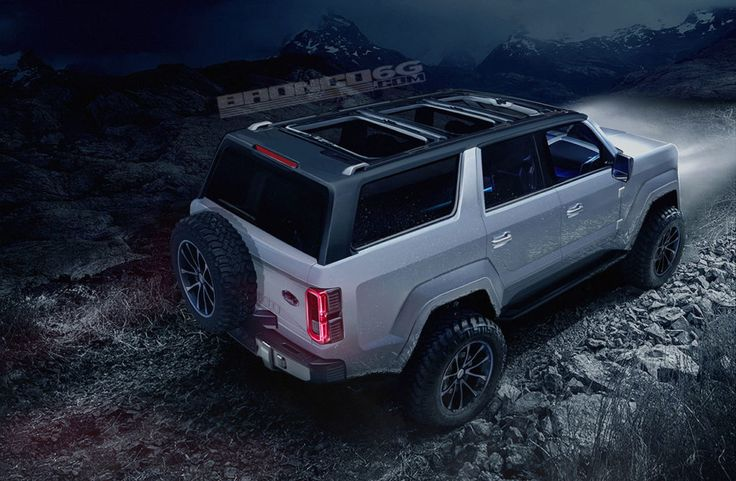 New Ford Bronco Concepts Are Getting us Excited for 2020