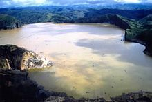 A limnic eruption, also referred to as a lake overturn, is a rare type of natural disaster ...