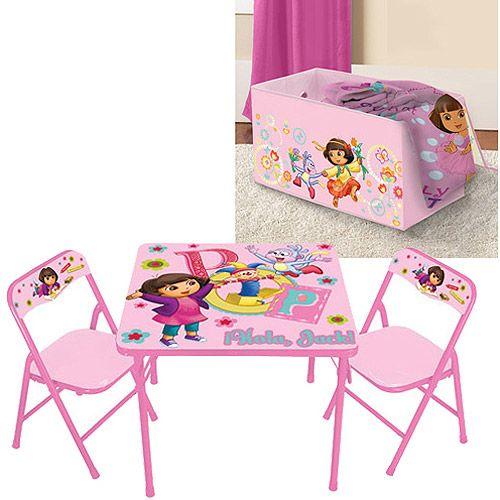 Dora Table Set & Kids Only Dora The Explorer Activity Table Set ...