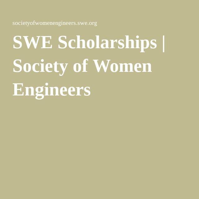 SWE Scholarships | Society of Women Engineers