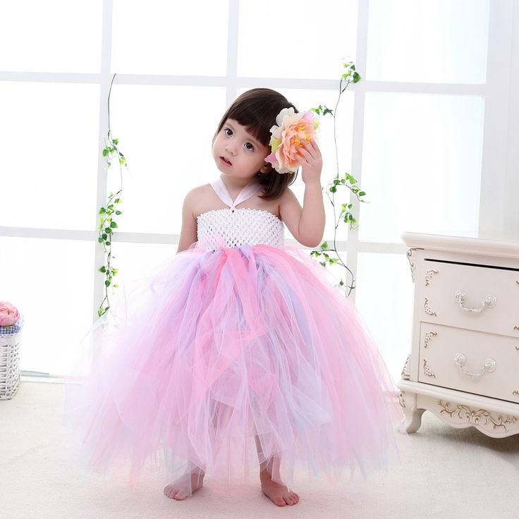 (34.99$)  Watch here  - 2016New High Quality Fashion Baby Pageant Dress Tutu Princess Colorful Formal Infant Dress For Weddings 1-10T Baby Girl Birthday