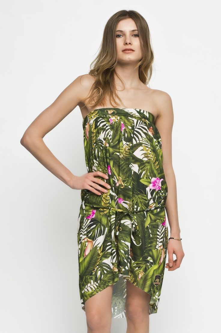 Femi Pleasure - Sukienka Haiti zielony w ANSWEAR.com | wysyłka w 24h | darmowa dostawa i zwrot od 150 zł