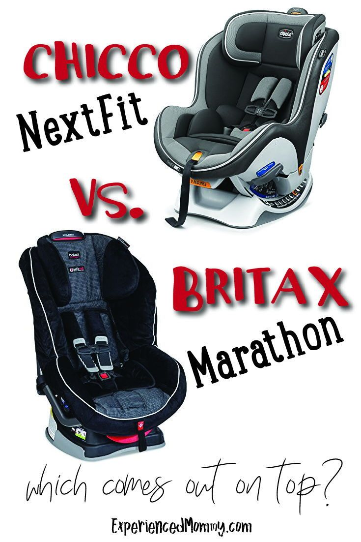 Infant Seat Vs Safety Seat Chicco Nextfit Vs Britax Marathon Which Comes Out On Top