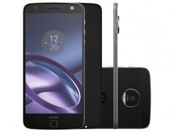 Compre no @magazinebrasilcompleto  Smartphone Motorola Moto Z Style Edition 64GB - Preto Dual Chip 4G Câm. 13MP + Selfie 5MP Flash