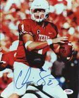 Chris Simms Autographed 8x10 Photo University of Texas PSA/DNA #S43712