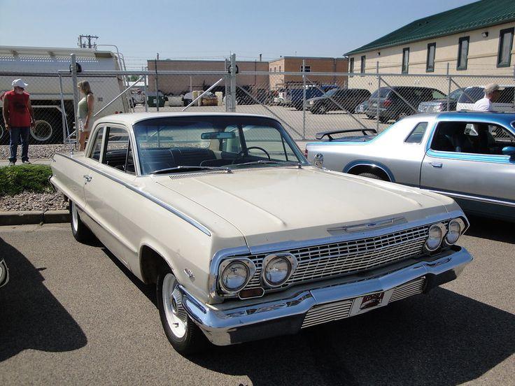 1963 - Chevrolet Biscayne - 2 - front side