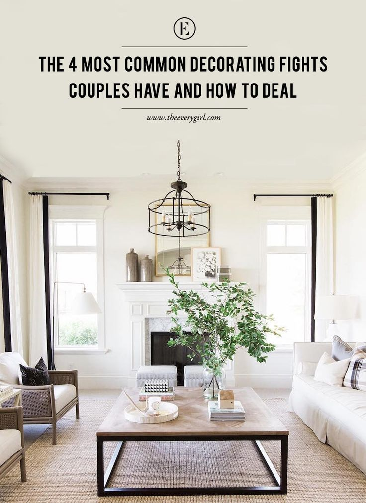 A Guide to Decorating as a Couple #theeverygirl | residential interior | modern home decor | decorating tips | interior design