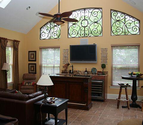 Faux Wrought Iron Design interior design, luxury, interior, decorator, custom design, Nocatee, Atlantic Beach, Florida