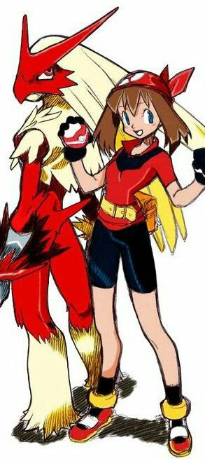 May my fave pokemon trainer.