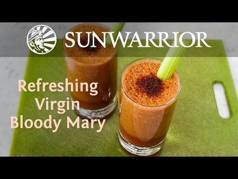 Refreshing Virgin Bloody Mary recipe: Vegan recipe connoisseur Jason Wrobel is in the house to bring us a healthy, delicious, and fun summertime Bloody Mary recipe.