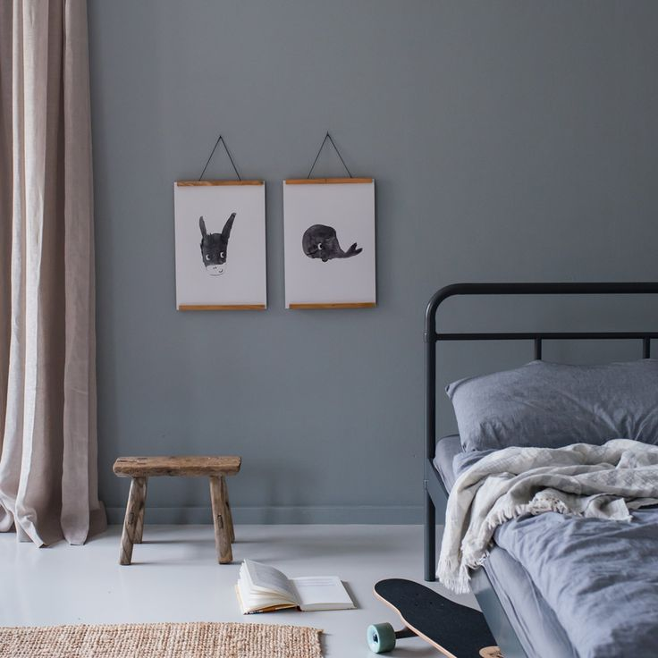 die posterprints wim der wal und donna der esel von swantje frieda sind exklusiv bei vinta. Black Bedroom Furniture Sets. Home Design Ideas