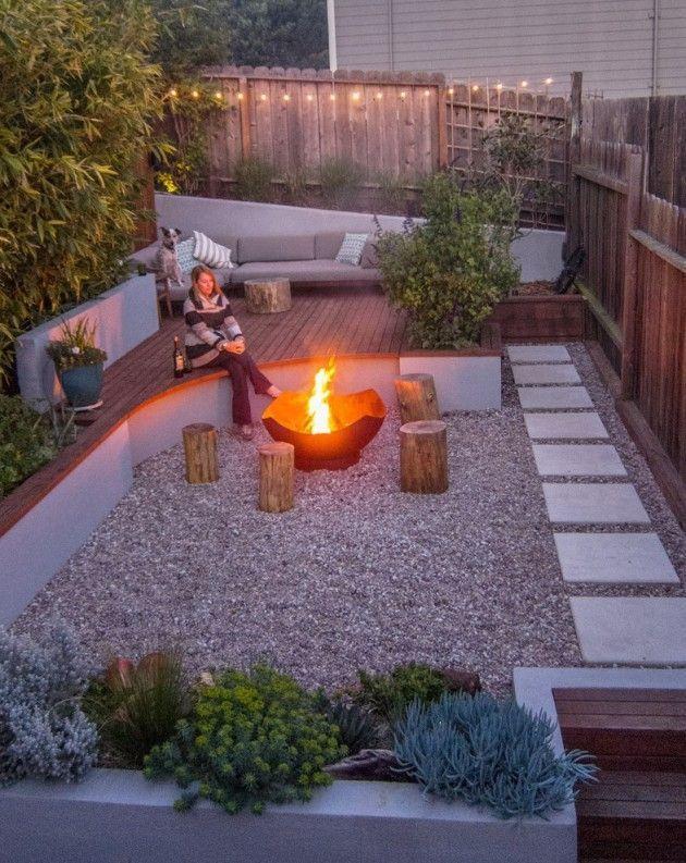 16 Captivating Modern Landscape Designs For A Modern Backyard Moderner Hinterhof Landschaftsdesign Hinterhof Garten