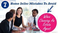 7 Home Seller Mistakes To Avoid When Choosing A Real Estate Agent  #realestate #agent #homeselling http://www.immoafrica.net/resources/7-home-seller-mistakes-to-avoid-when-choosing-an-estate-agent/?utm_content=buffer3397d&utm_medium=social&utm_source=pinterest.com&utm_campaign=buffer
