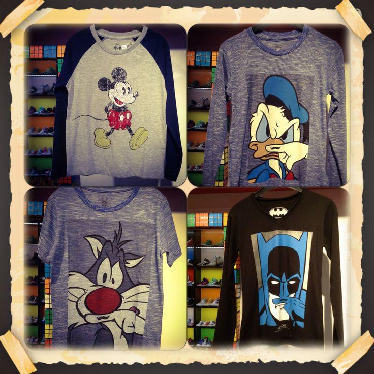 Mickey, Donald, Sylvest and Batman are in Little Velvet!:)