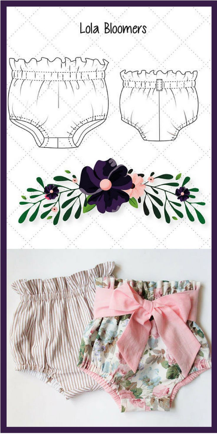 Easy-to-sew!Super cute and practical bloomers. Designed for woven fabric.They feature a high waistline, relaxed fit, elastic casings around the waist and legs for ease of fit. Decorative addition - playful belt-bow. Suitable for any season. For the summer they can be sewn from light cotton fabrics, for winter - from fine wool, corduroy, velvet.Baby Toddler Bloomers pattern -High Waisted bloomers PDF - Bloomers pattern - Baby shorts pattern Diaper Cover pattern - Patterns for kids affiliate