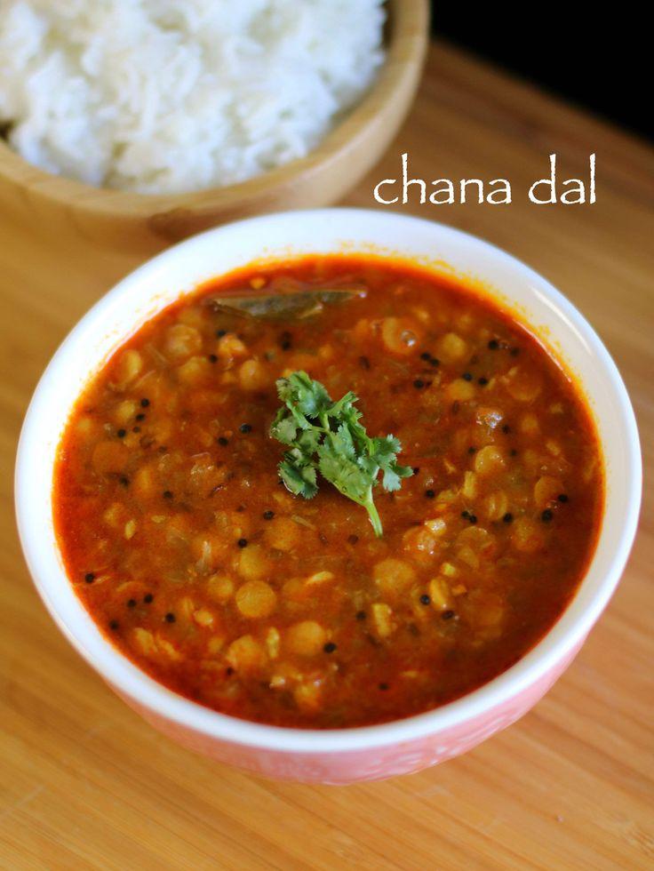 chana dal recipe | chana dal fry recipe | chana dal masala recipe - http://hebbarskitchen.com/chana-dal-recipe-chana-dal-fry-recipe/