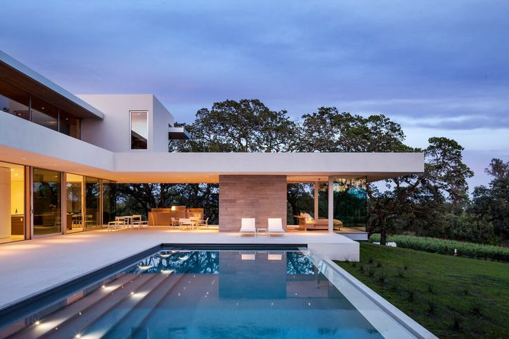 Vineyards Residence by Swatt | Miers Architects