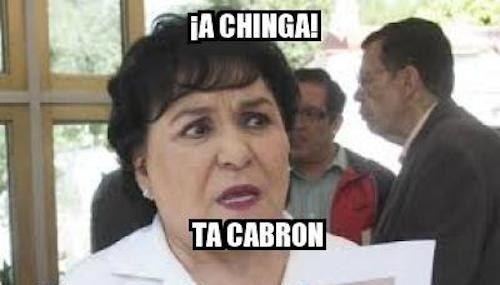 Cuando alguien que conoces tenga un problema que no tiene solución: | 17 Memes de Carmen Salinas que puedes usar para cualquier ocasión