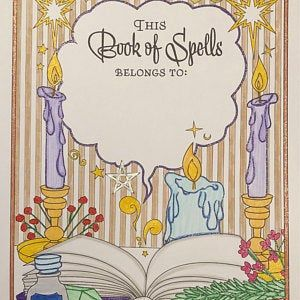 Coloring Book Of Shadows Magical Year 20 Printable Etsy In 2021 Coloring Books Book Of Shadows Planet Colors