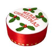 Delicious cake for Christmas