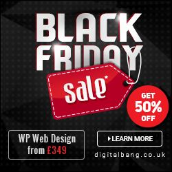Black Friday & Cyber Monday WordPress Web Design Deals